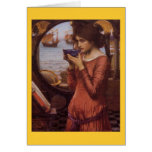 Destiny by JW Waterhouse, Vintage Victorian Greeting Cards