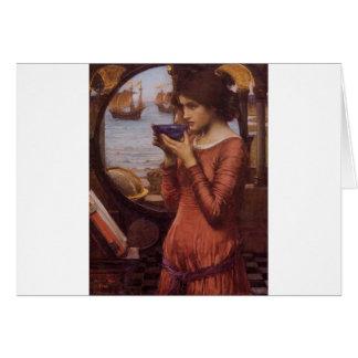 Destiny by JW Waterhouse Vintage Victorian Cards