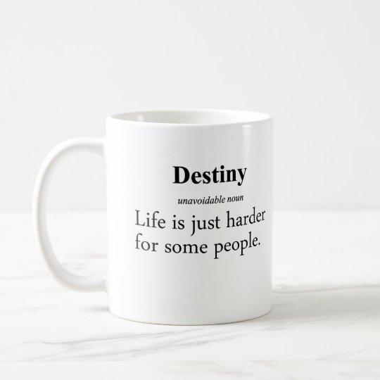 Destiny Definition Coffee Mug
