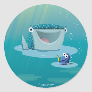 Destiny & Dory | Bubble Buds Classic Round Sticker