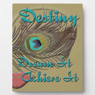 Destiny -  Dream It, Achieve It - Plaque