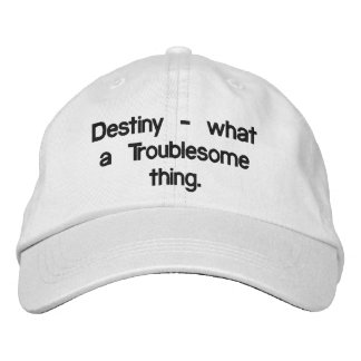 Destiny Embroidered Baseball Cap