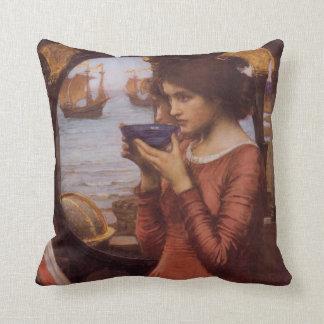 Destiny Fine Art Throw Pillow
