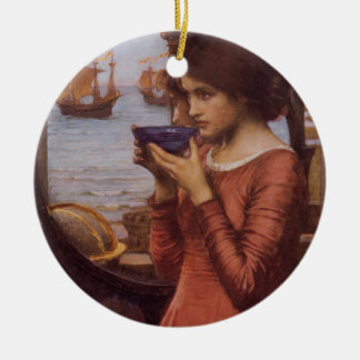 Destiny From a Magic Potion Double-Sided Ceramic Round Christmas Ornament