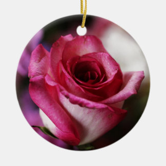 Destiny Gifts Double-Sided Ceramic Round Christmas Ornament