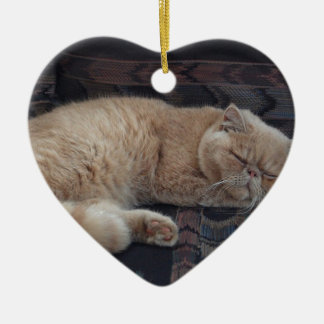 Destiny Gifts Double-Sided Heart Ceramic Christmas Ornament