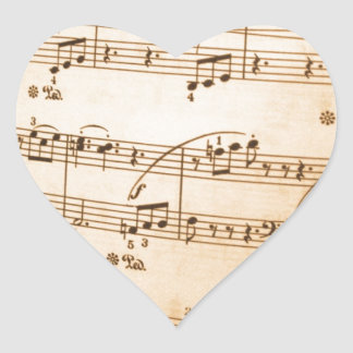Destiny Gifts Heart Sticker