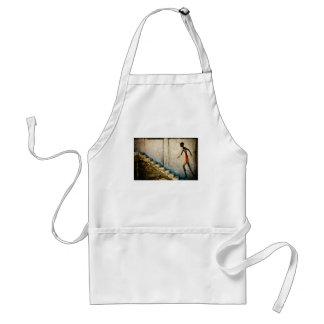 destiny heads home adult apron