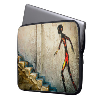 destiny heads home laptop sleeve