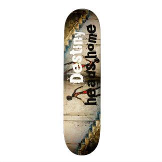 destiny heads home skateboard deck