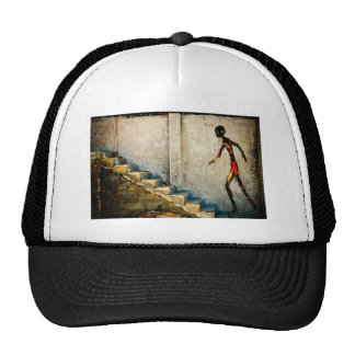 destiny heads home trucker hat