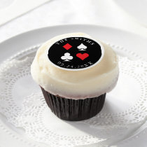 Destiny Las Vegas Casino Themed Custom Frosting Edible Frosting Rounds