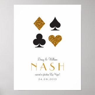 Destiny Las Vegas Wedding Anniversary Print