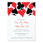 "Destiny Las Vegas Wedding Invitation 5"" X 7"" Invitation Card"