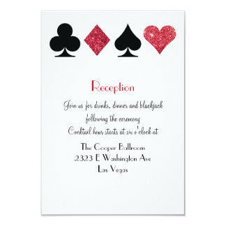 Destiny Las Vegas Wedding Reception Extra Info Card
