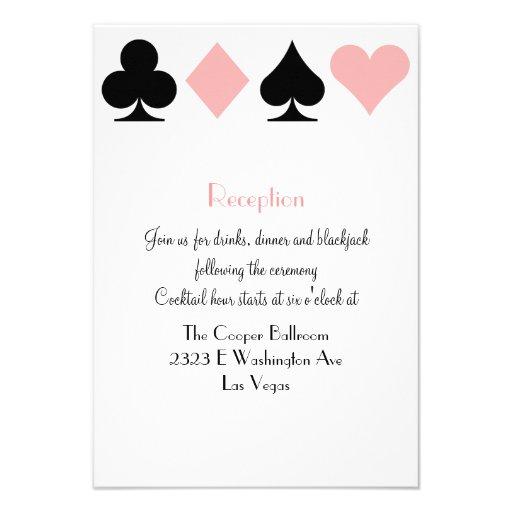 Destiny Las Vegas Wedding Reception Extra Info Announcement