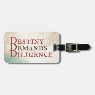Destiny Luggage Tag