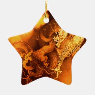 Destiny of A Dragon Ceramic Ornament