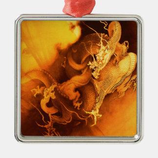 Destiny of A Dragon Metal Ornament