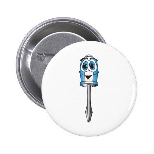 Destornillador Phillips azul Pins