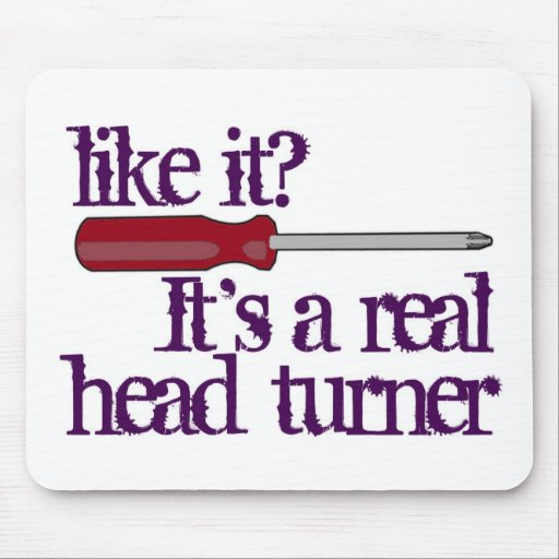 Destornillador - Turner principal - imagen diverti Tapetes De Ratón