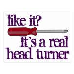 Destornillador - Turner principal - imagen diverti Postal