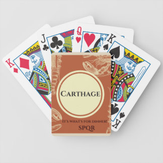 Destory Carthage Bicycle® Poker Playing Cards