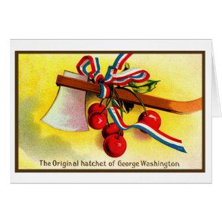 Destral de George Washington del Día de la Indepen