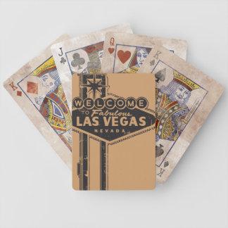 Destressed en los naipes de Vegas Baraja