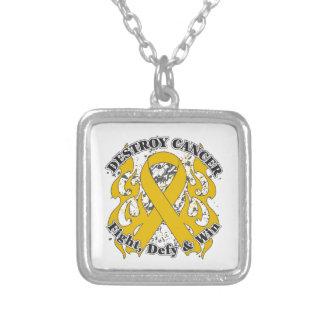 Destroy Appendix Cancer Necklaces