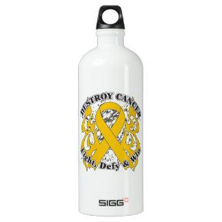 Destroy Appendix Cancer Water Bottle