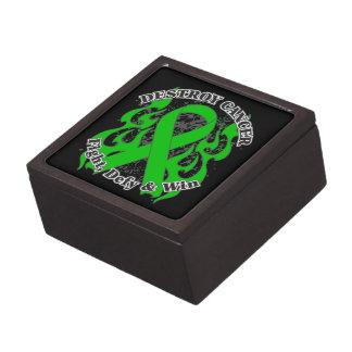Destroy Bile Duct Cancer Premium Jewelry Box