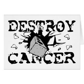 Destroy Cancer Cards
