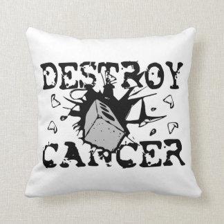 Destroy Cancer Pillow