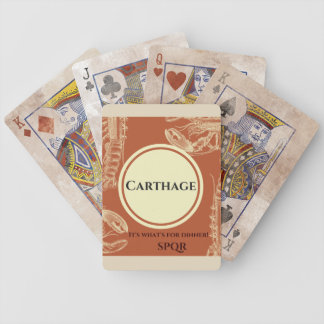 Destroy Carthage Playing Cards