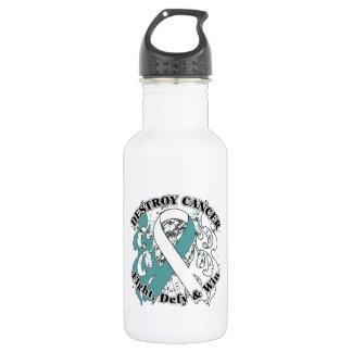 Destroy Cervical Cancer Water Bottle