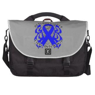 Destroy Colon Cancer Laptop Computer Bag