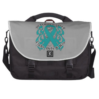 Destroy Gynecologic Cancer Laptop Bag