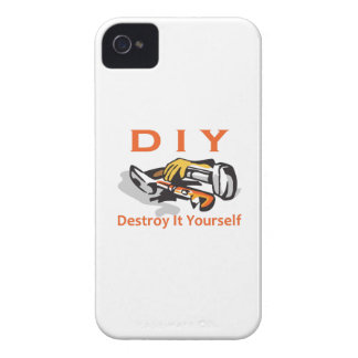 DESTROY IT YOURSELF iPhone 4 COVER