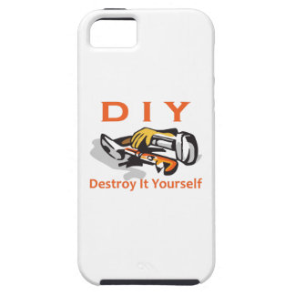 DESTROY IT YOURSELF iPhone 5 COVER