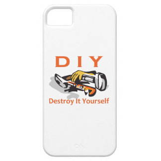 DESTROY IT YOURSELF iPhone 5 CASE