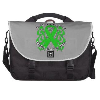 Destroy Kidney Cancer Green Ribbon Commuter Bag