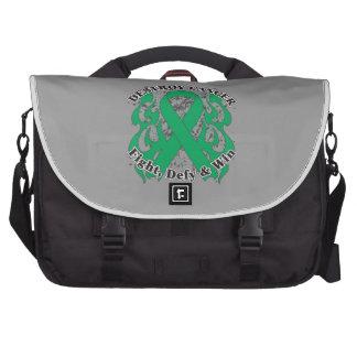 Destroy Liver Cancer Laptop Messenger Bag
