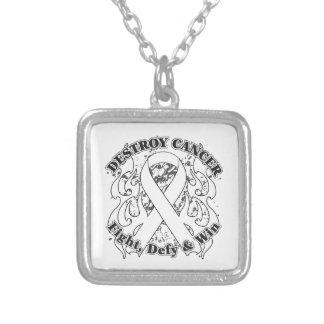 Destroy Lung Cancer Custom Jewelry