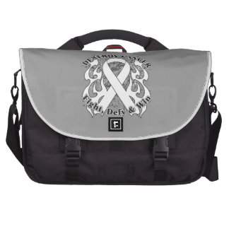 Destroy Lung Cancer Laptop Bags