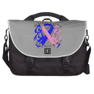 Destroy Male Breast Cancer Commuter Bags