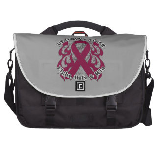 Destroy Multiple Myeloma Cancer Laptop Bags