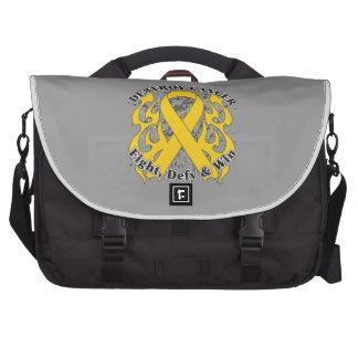 Destroy Neuroblastoma Cancer Laptop Bag