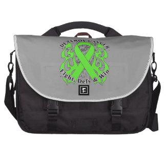 Destroy Non-Hodgkins Lymphoma Laptop Commuter Bag