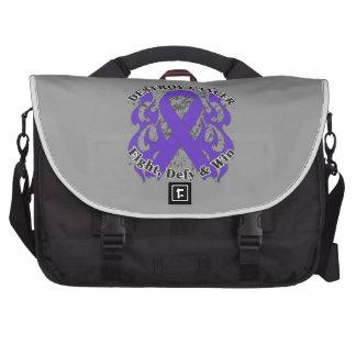 Destroy Pancreatic Cancer Laptop Bag